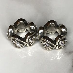 Brighton Corazon Spacer Charms NWOT